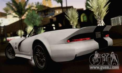 GTA 5 Bravado Banshee (IVF) for GTA San Andreas left view