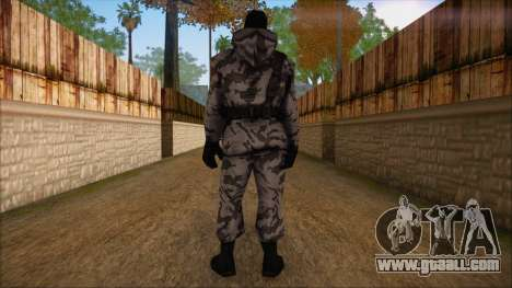 Artic from Counter Strike Condition Zero for GTA San Andreas second screenshot