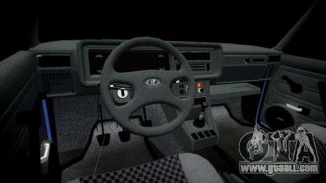 VAZ-2107, Lambo for GTA 4 back view