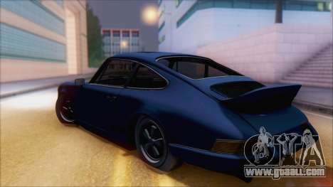 Porsche 911 Carrera 1973 Tunable KIT A for GTA San Andreas left view