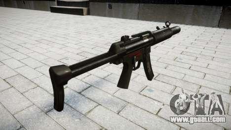 Gun MP5SD RO FS for GTA 4 second screenshot