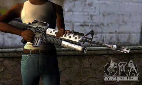 M4 from Call of Duty: Black Ops v2 for GTA San Andreas third screenshot