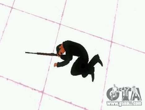 Ped.ifp v2 for GTA San Andreas fifth screenshot