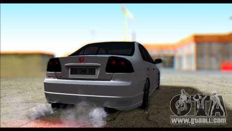 Honda Civic VteC for GTA San Andreas left view