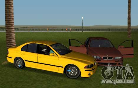 BMW M5 E39 for GTA Vice City