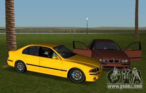 BMW M5 E39 for GTA Vice City