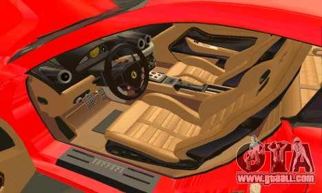 Ferrari 599 Beta v1.1 for GTA San Andreas side view