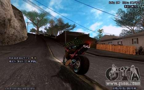 Improved graphics for medium computers for GTA San Andreas third screenshot