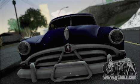 Hudson Hornet 1952 for GTA San Andreas back left view