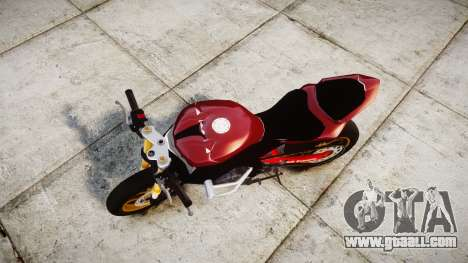 Yamaha YZF-R6 Stunt for GTA 4 right view
