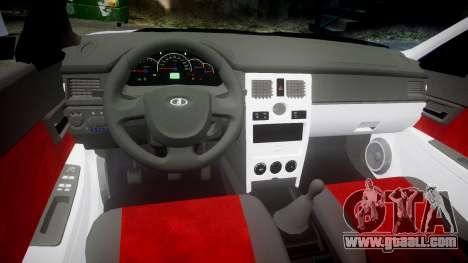 VAZ-2170 best for GTA 4 back view