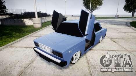 VAZ-2107, Lambo for GTA 4 side view