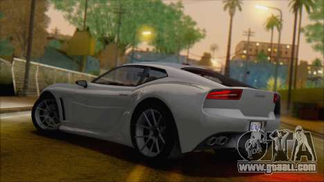 GTA 5 Lampadati Furore GT for GTA San Andreas left view