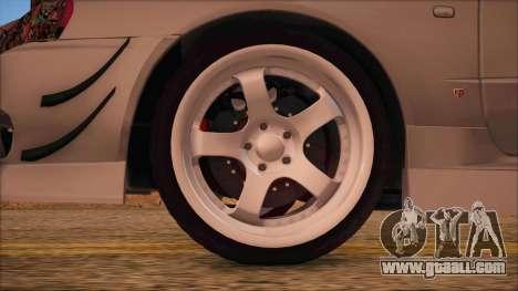 Nissan Skyline R34 GTR V-Spec 2 for GTA San Andreas back left view