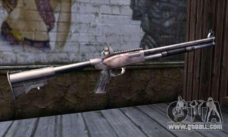 Chromegun Standart for GTA San Andreas second screenshot