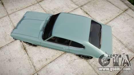 Ford Capri GT Mk1 for GTA 4 right view