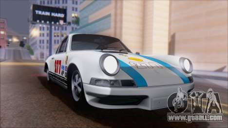 Porsche 911 Carrera 1973 Tunable KIT A for GTA San Andreas inner view