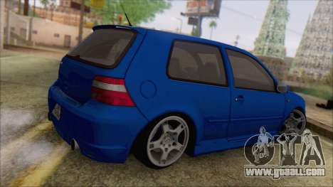 Volkswagen Golf 4 R36 for GTA San Andreas left view