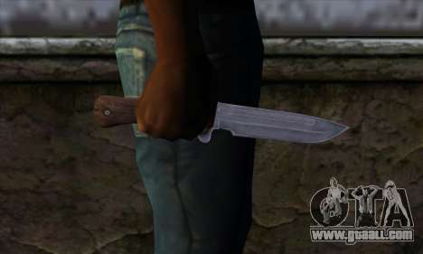 Daryl Knife from The Walking Dead for GTA San Andreas third screenshot