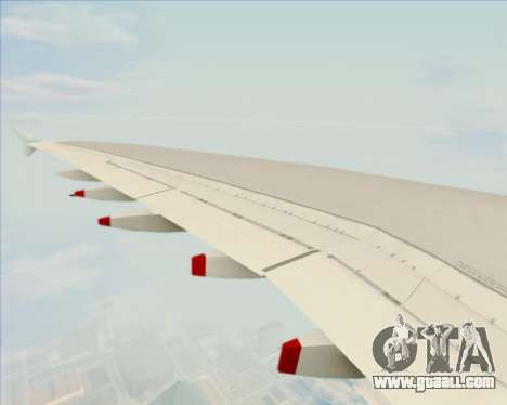 Airbus A380-800 Air Canada for GTA San Andreas