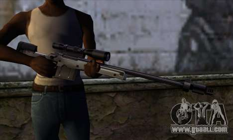 AW50 from Far Cry for GTA San Andreas third screenshot