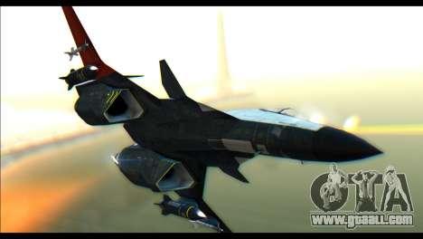 ADFX-02 Morgan for GTA San Andreas back left view