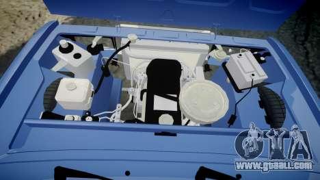 VAZ-2107, Lambo for GTA 4 inner view