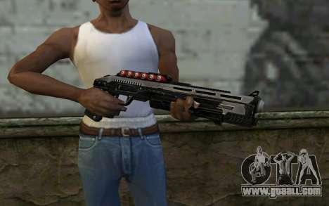 Shotgun from Deadpool for GTA San Andreas third screenshot