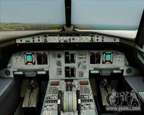 Airbus A320-200 Airphil Express for GTA San Andreas interior