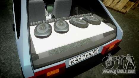 VAZ-2109 hobo for GTA 4 side view