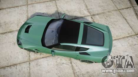 Chevrolet Corvette C7 Stingray 2014 v2.0 TireMi3 for GTA 4 right view