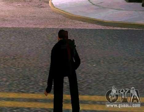 Ped.ifp v2 for GTA San Andreas third screenshot