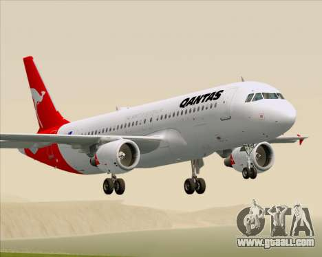 Airbus A320-200 Qantas for GTA San Andreas