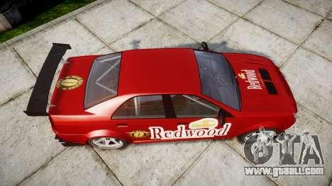 Albany Presidente Racer [retexture] Redwood for GTA 4 right view