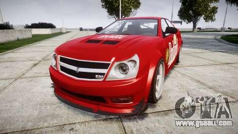 Albany Presidente Racer [retexture] Redwood for GTA 4
