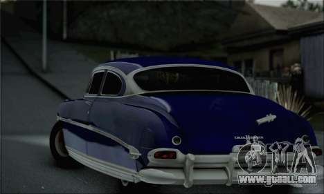 Hudson Hornet 1952 for GTA San Andreas left view
