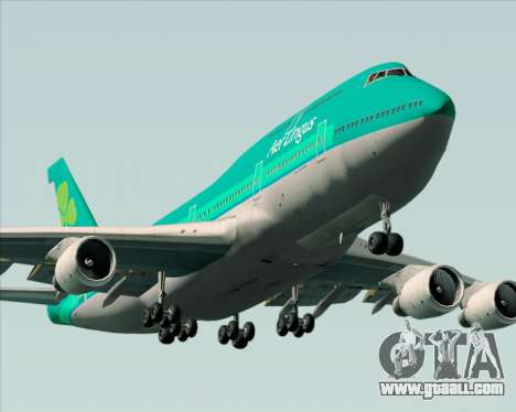 Boeing 747-400 Aer Lingus for GTA San Andreas engine