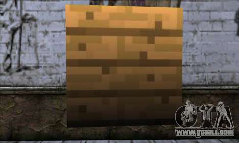 Block (Minecraft) v11 for GTA San Andreas