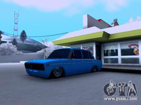 VAZ 2106 for GTA San Andreas