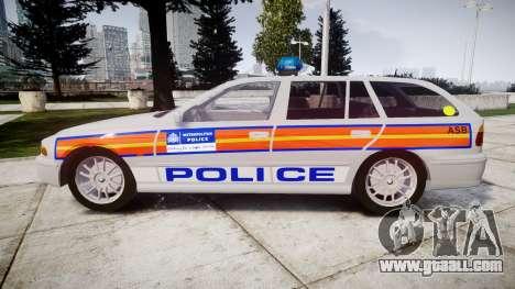 BMW 525i E39 Touring Police [ELS] JSARVV for GTA 4 left view