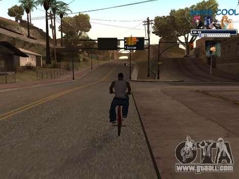Anime C-HUD for GTA San Andreas third screenshot