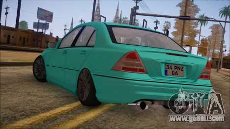 Mercedes-Benz C320 AMG for GTA San Andreas left view