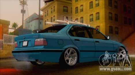 BMW 320i E36 for GTA San Andreas left view