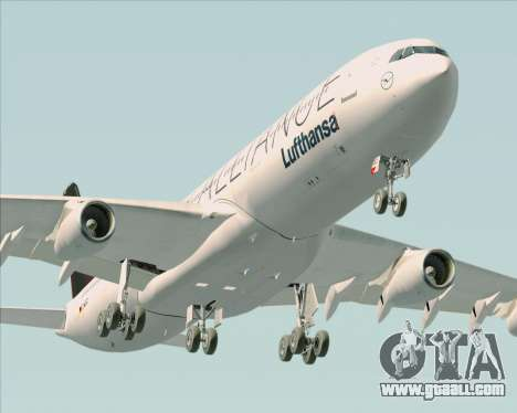 Airbus A340-300 Lufthansa (Star Alliance Livery) for GTA San Andreas engine