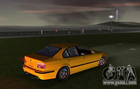 BMW M5 E39 for GTA Vice City back view