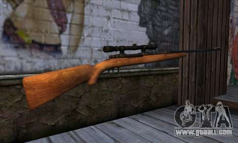 Sniper Rifle from The Walking Dead for GTA San Andreas second screenshot
