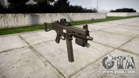 German submachine gun HK UMP 45 for GTA 4