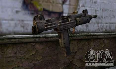 Uzi из Call of Duty Black Ops for GTA San Andreas second screenshot