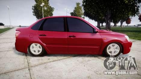 VAZ 2190 for GTA 4 left view