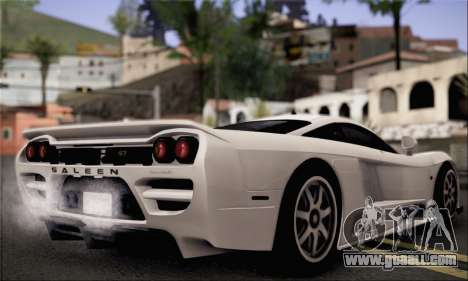 Saleen S7 Twin Turbo for GTA San Andreas left view